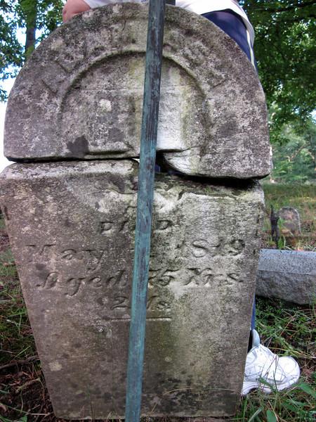 2011aug6-252: Adam Ash (Johann Adam Esch) b. 1 Mar 1744, d. 1 May 1819