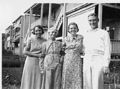 Louise, Magdalene, Loraine, Frank McVicar