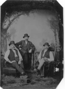 Donald McVicar on left