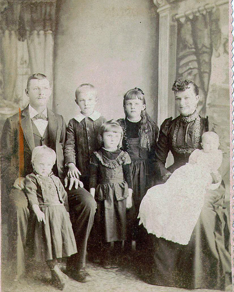 Bernard Beckman Family.  The Beckmans are my Great-Grandparents and the parents of my paternal grandmother.
