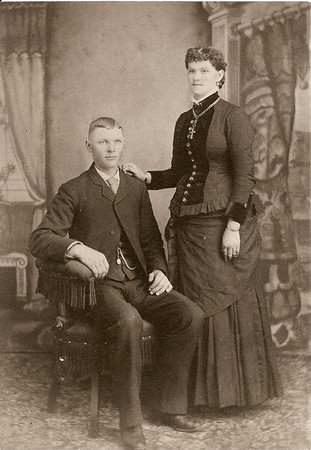 My father's maternal grandparents, Mary Burger Beckman and Bernard Beckman
