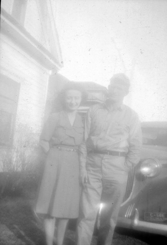 Aunt Goldie & Uncle John