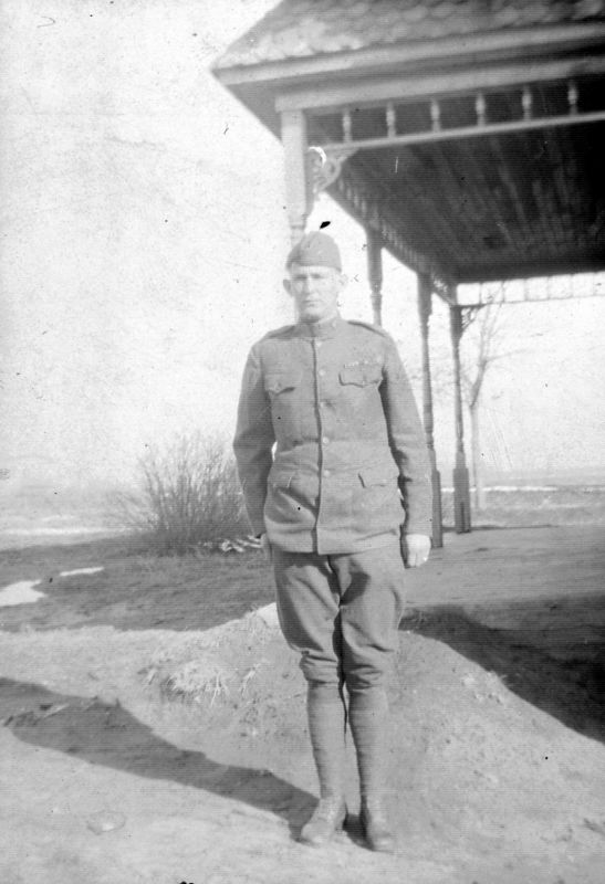 probably Uncle Harry Griffith ca. 1915? - thx Jack