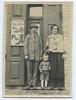 Yaakov (Jacob) Treszczanski, Arie Treszczanski, Sheina Yafa Ribak<br /> <br /> Photo taken by Dave Bloom on his 1923 trip to Goniadz, Poland