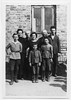 Left to right:  Fischl Tresczcanski, Rivka Zabludovski, Meier Tresczcanski, Gitl Tresczcanski, Ruben Tresczcanski, Itzhak Tresczcanski, Issik Tresczcanski, Yehuda (Yudel) Tresczcanski<br /> <br /> Photo taken by Dave Bloom on his 1923 trip to Goniadz, Poland
