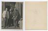 ?, Haskel Olszanicki, ?, ?<br /> <br /> Haskel (AKA Josef) was the husband of Khinke Treszczanski<br /> <br /> Photo taken by Dave Bloom on his 1923 trip to Goniadz, Poland