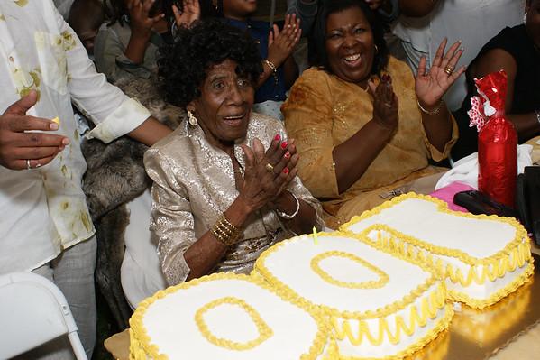 Granny Wilhelmina 100th Birthday Celebration
