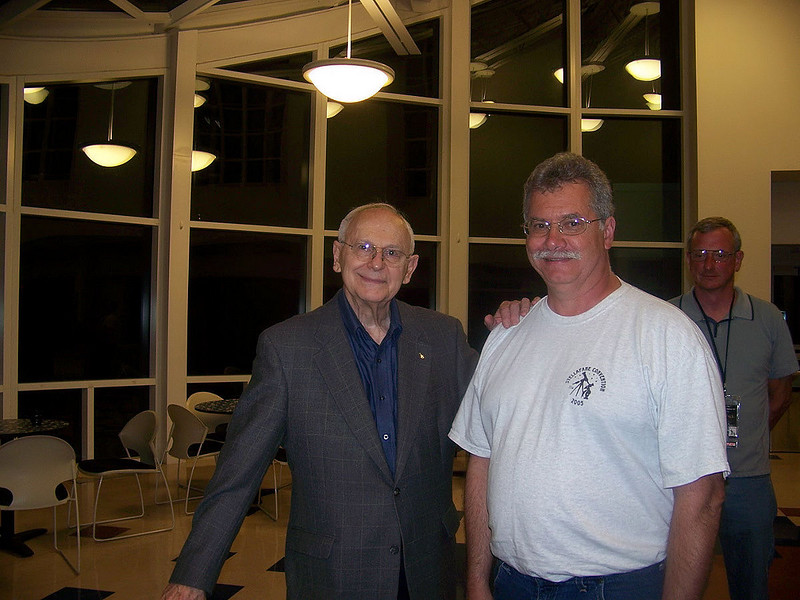 Apollo 12 moon walker Allan Bean and me.