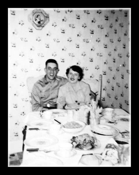 "Clifford ""Pete"" Hall & Doris Landry."