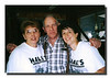 Patricia (Hall) & Patrick Welch & Kathy (Martineau) Rocheleau at the 1rst Annual Hall Reunion, Dracut, MA, August 19, 2000.