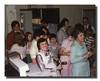 """Easter At The Halls""<br /> Easter Sunday at the Memere Halls house was always a great time despite the sardine can effect!  1977"