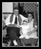 Pepere Wilfred & Memere Rose Hall with Kevin Hall, Thanksgiving day 1954.