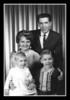 Charlotte (Liebwerth) & Gerry Hall with children Harry & Linda, 1965