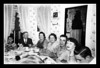 """(l-r) Roger """"Butch"""" Hall, Henry & Odna (Couture) Marchand, Rose (Couture) & Clifford """"Pete"""" Hall, Doris Landry & Donald Hall."""