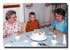 """Look At That Cake!!""<br /> Rose (Couture), Harry & Charlotte (Liebwerth) Hall."