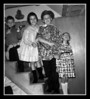 """Put Your Hands Up!""<br /> Christmas, 1963, at Uncle Cliff's house. (l-r); Michael, Joann, Kevin & Cheryl Hall."
