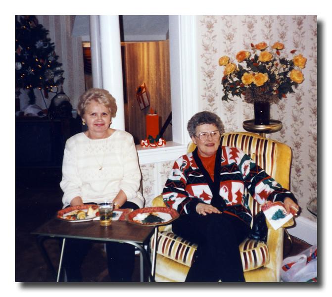 Charlotte (Liebwerth) & Doris (Landry) Hall