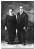 """Elisa & Edouard""<br /> My paternal great-great grandparents, Elisa (Decelles) and Edouard Couture. Date of photo is unknown but it is believed to be about 1940 shortly before their deaths in 1942 and 1941."