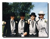 """Now That's Trouble!""<br /> Dean, Bruce, Mike & Mark Hall on Mark's wedding day, September 05, 1987."