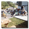 """Lawn Chair Central""<br /> This is how it looked at the cookouts at Pepere & Memere Hall's house."