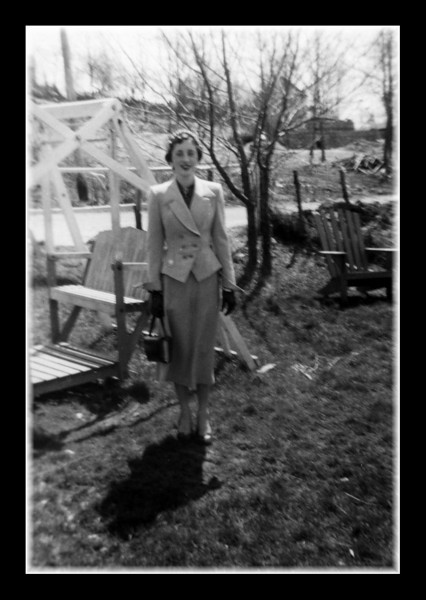 Ruth Hall, 1952.