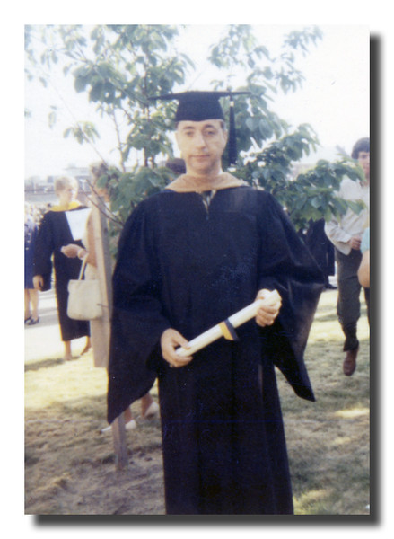 Raymond Asselin<br /> Anyone know when this was taken & what he was graduating from?