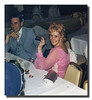 """Got A Light?""<br /> Donald & Doris (Pinette) Hall at Cheryl (Hall) & Marc Gosselin's wedding reception, May 8, 1976."
