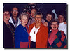 """The In-Laws""<br /> Back row (l-r) Raymond Asselin, Patrick Welch Doris (Landry) & Sandra (Troville) Hall.<br /> Front (l-r); Theresa (Graham), Charlotte (Liebwerth), Julie (Dean) & Arlene (Gagan) Hall."