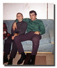 Kevin & Roger (Butch) Hall, Christmas 1964, at Uncle Cliff's house.
