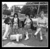 """The Hall Girls""<br /> (l-r) Gail, Darlene, Doris (Pinette) & Theresa (Graham) Hall at one of the cookouts at Memere & pepere Halls house."
