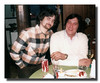 Michael Hall & Marc Gosselin, Christmas day 1980.