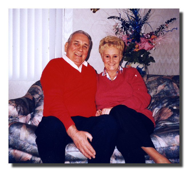 Donald & Doris (Pinette) Hall, 1996.