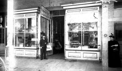 W D Harris Store 107 W. Main Street 1890