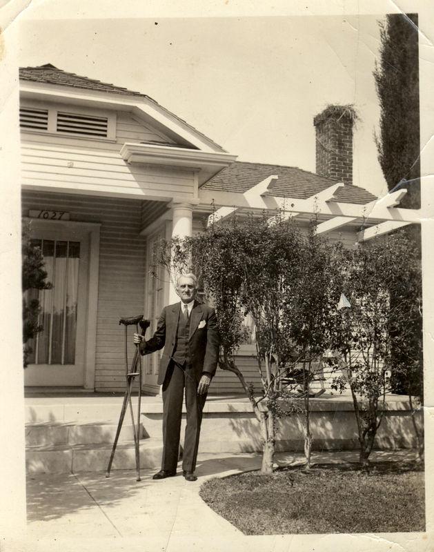 Robert Ferdinand Harrison (1857-1936) son of William Joshua Harrison and Permelia Adelaide Ellis.  He married Mary Elvira Wilkes October 17, 1883.