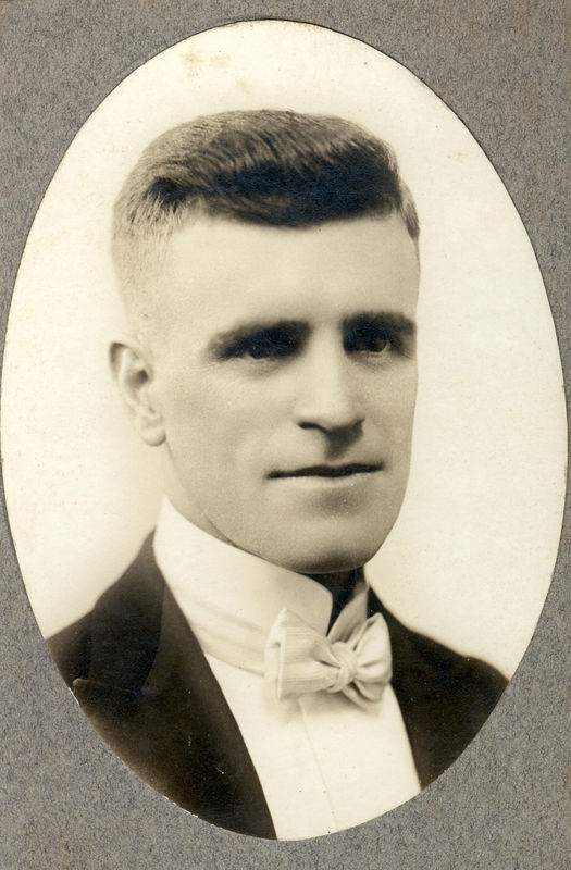 William Wilkes Harrison (1893-1977) the son of Robert Ferdinand Harrison and Mary Elvira Wilkes.  He married Frances Lee Wallace on November 18, 1925.