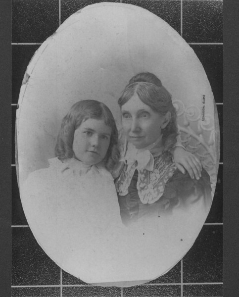 Child: Ruth Harrison daughter of William Ellis Harrison.<br /> Her Grandmother: Permelia Adelaide (Ellis) Harrison  <br /> Born July 27, 1829 in Tennessee  Died February 13, 1916 in Texas