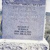Fredrich and Augusta (Eisentraut) Herdrich Headstone