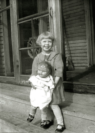 Joyce Herdrich and Her Doll