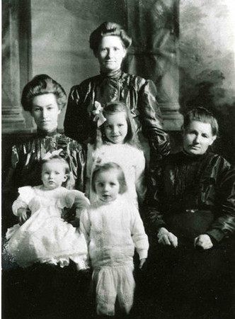 Augusta Herdrich and Three Generations