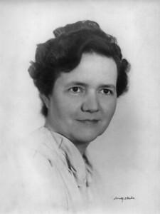 Gladys H  Johnson ca 1945