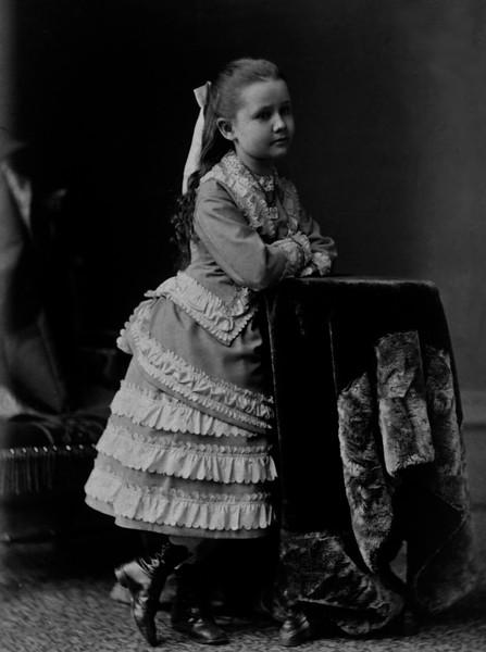 Mary Mathivet Age 8