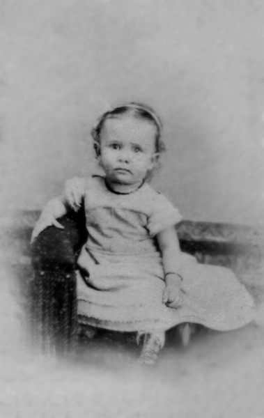 "Mary Wentworth ""May"" Mathivet in early 1867"
