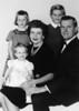 Jennifer Hilmes (baby on lap), Sharon Hilmes (standing), Rosemary Lanahan Hilmes, Michele Hilmes, Walter (Red) Hilmes<br /> <br /> c 1962