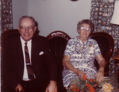Elmer & Emma (50th Wedding Anniversary in October, 1970)
