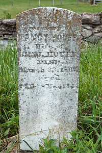 Nancy Ann (Albright) Houff 09 Jul 1792 - 23 Mar 1867