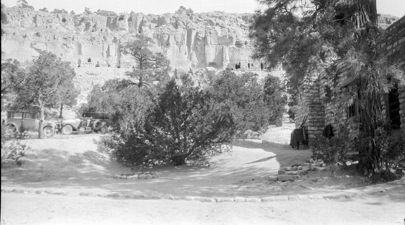 Picture from one of many family vacations.  New Mexico Pueblo?