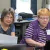Lorna Podvin and Sue Askew