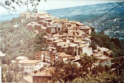 San Mango Sul Calore, Avellino, Campania, Italy - before the 1980 earthquake