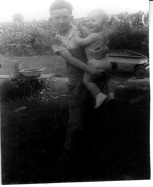 Jack holding Monty