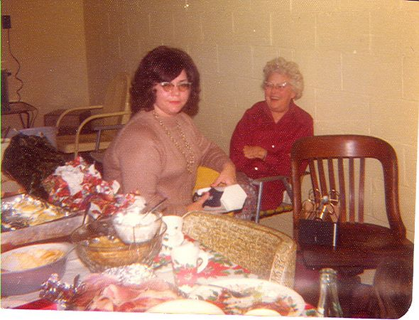Mom and Marcella.
